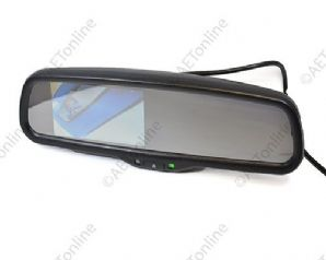 "4.3"" Car Rear View Mirror LED Colour Monitor For Audi Volkswagen"